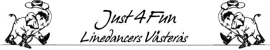Just 4 fun linedancers